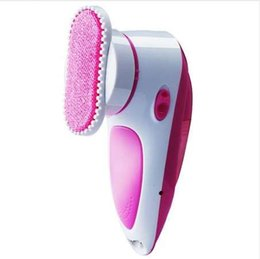 Woolen Knitted Clothes NZ - Portable Fluff Fabrics Shaver Lint Removal Machine With Static Brush Clothes Blankets Bed Sheets US Plug Electric Lint Remover