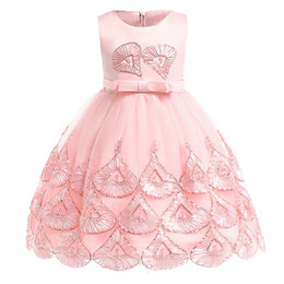 $enCountryForm.capitalKeyWord Australia - Floral girls dresses baby wedding dress for kids Suquin kids dress girl clothes birthday party princess party 3-10 year clothing