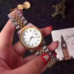 Gold watch charm online shopping - luxury brand designer fashion leather watches black white ladies Gold watch women Dress white Simple classic charm style steel Belt clock