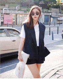 $enCountryForm.capitalKeyWord Canada - 2018 Korean Version Spring Cotton Vest Women Shorts Ladies Two Sets Office Lady Summer Women Suit