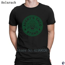White Shirts Styles Designs For Men Australia - Taco Stand Green t-shirts Comfortable Pop Top Tee solid color Summer Style t shirt for men slogan size S-3xl Formal Designs