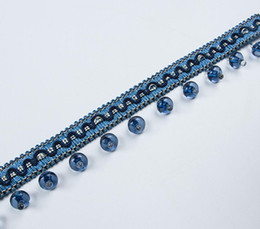 $enCountryForm.capitalKeyWord UK - Type-12 12Meter Bead Tassel Pendant Hanging Lace Trim Ribbon For Window Curtains Wedding Party Decorate Sewing DIY
