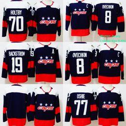 Women Youth Men 8 Alex Ovechkin Jersey 2018 Stadium Series 19 Nicklas  Backstrom 70 Braden Holtby 77 T.J. Oshie Washington Capitals Jerseys 4f5125405