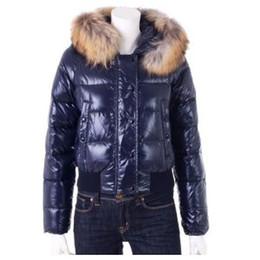 Womens Parkas Australia - Women's Classic Brand Winter Warm Down Jacket With Fur collar Feather Dress Jackets Womens Outdoor Down Coat Woman Fashion Jacket Parkas M58