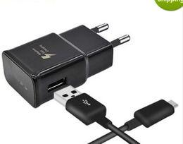 HOT OEM Оригинальное зарядное устройство для путешествий AAA + 5V / 2A 9V / 1.67A Адаптивная быстрая зарядка для Samsung S6 S7 S8 С LOGO Сделано во Вьетнаме. на Распродаже