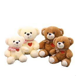 5d32ab13d56 1 pcs Teddy bear plush toy doll bear cute heart cravat hug rag doll send  girlfriend birthday gift