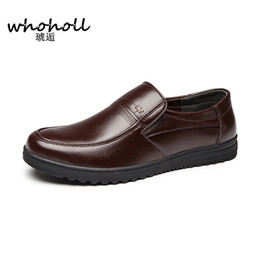 $enCountryForm.capitalKeyWord NZ - Size 38-44 Men England Fashion Man-made Leather Casual Shoes Office Working Breathe Black Brown Flat Shoes Loafers Free Shipping