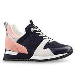 PoPular trainers online shopping - High quality popular Designer sneakers leather trainers Women men casual shoes fashion Mixed color with box xz157