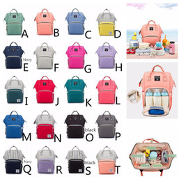 diaper camp 2019 - 20 Colors Mommy Backpack Diaper Bags Baby Nappies Backpacks Fashion Mother Maternity Backpacks Outdoor Desinger Nursing