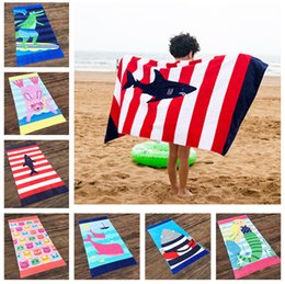 Chinese  160*80CM Beach towel letter animal design microfiber swimming blanket women's swim trunks print adult Kids cotton outdoor bath towel LC878 manufacturers