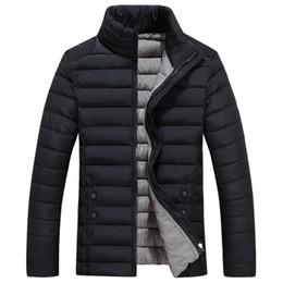 Famous Parka Brands Australia - New Winter Thick Warm Jacket Coat Famous Brand Mens Parka Coat High Quality 5 Color Men Clothes Ropa De Hombre Vestiti