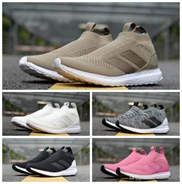 88c3f77b1 ACE 16 + luxury shoes PureControl Ultra Boost Beckham Uncaged Casual Socks  Shoes Top quality for Men Women Sneakers boost with box