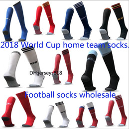 College baseball uniforms online shopping - World Cup soccer uniforms kit sock home ronaldo jersey socks yellow messi goalkeeper shirt m tze polyester ribbon New