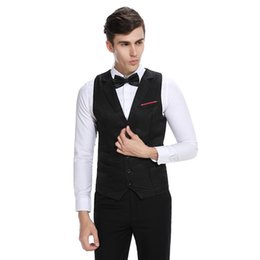 $enCountryForm.capitalKeyWord Australia - 2017 New Korean Vests For Men Slim Fit Mens Suit Vest Male Waistcoat Gilet Homme Casual Sleeveless Formal Business Jacket z30