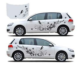 $enCountryForm.capitalKeyWord NZ - 1 Pair Car Styling Accessories Auto Modifield Decal Stickers Natural Flower Vine Dragonfly for Whole Car Body Decal Wholesale