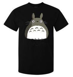 Totoro Art Australia - My Neighbor Totoro Cute Grey Art Stylish men's (woman's available) t shirt black