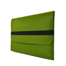 Laptop bag untuk 17 inch felt notebook computer bag case drop shipping Can be customized adding logo on Sale