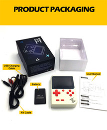 $enCountryForm.capitalKeyWord Australia - New RS-6 Updated Portable Retro Mini Handheld Game Console can store 168 games 3.0 inch Color LCD Game Player For FC Game