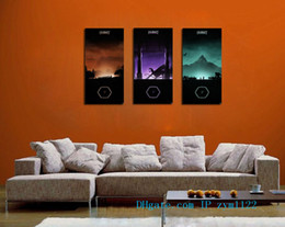 Discount floral oil paintings - The Hobbit 3 Pieces Home Decor HD Printed Modern Art Painting on Canvas (Unframed Framed)
