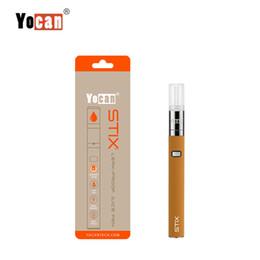 $enCountryForm.capitalKeyWord NZ - Yocan Stix Starter Kit 320Mah Built-In Battery With 0.6Ml Tank & Leak-Proof Design E-Cigarette Starter Kit Vape Pen Portable Vaporizer