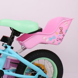 Wholesale DrBike Doll Seat for Kid Bike with Decorate Yourself Stickers