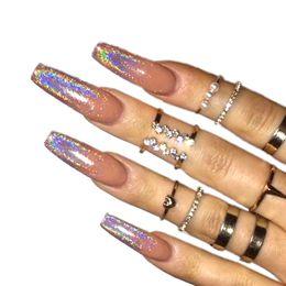 Discount Nail Art Glitter Gradient Nail Art Glitter Gradient 2018