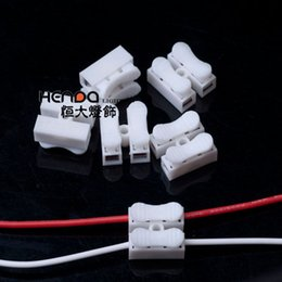 terminal types NZ - Fire Retardant Wire Connectors Terminals for LED Ceiling Light Quick Spring Push Type 2 Bits Terminal Clip