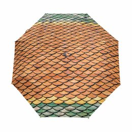$enCountryForm.capitalKeyWord Canada - Chinese Style Vintage Bricks Pattern Umbrella Fully-automatic Three Folding Umbrella Male Female Commercial Windproof Paraguas