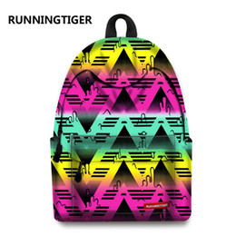 Discount skull laptop backpack - RUNNINGTIGER 3D Skull Laptop Backpack for Men Punk Rock Printing School Backpack Casual School Bags for Boys