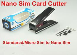 Black Cutters Australia - High-Quality Sim Cutter Standared Sim to Nano Sim Card Cutter for iPhone Samsung Nokia Sony LG Black color
