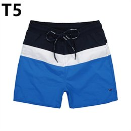 d9b50c4a3 Summer Swimwear New Men s pantalones Board Bermuda Masculina Boardshorts Surf  Swim Shorts para hombres Beach Short Elástico