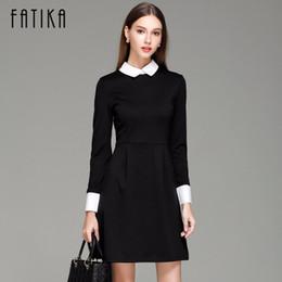 125a31cfe32d3 Long Sleeve Black Peter Pan Dress Online Shopping   Long Sleeve ...