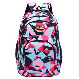 $enCountryForm.capitalKeyWord Canada - Backpack Preppy Style Teenage Girls Boys School Backpack Camouflage Printing Students Zipper women 2018jul31