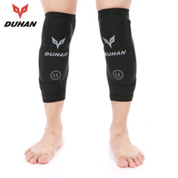 Bicycling Gear NZ - DUHAN Outdoor Sports Knee Protector Gear Bicycle MTB Bike Cycling Knee Pads Motorcycle Riding Protective Pads Guard