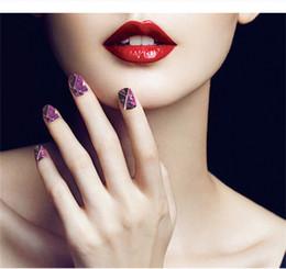 Fleur Starry Sky Mot Nail Art Autocollant Transfert de L'eau Decal Nail Art Décorations Outil de Maquillage Des Ongles Avec le Paquet de Détail