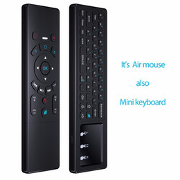 $enCountryForm.capitalKeyWord NZ - Newest Mini Wireless Keyboard 2.4Ghz Fly Air Mouse for Android TV Box PC Projector Universal Remote Control Motion Sensing Game Controller