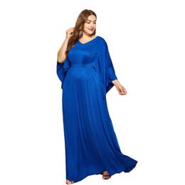 500b30ca18 Elegant 2018 abaya islamic clothing batwing Sleeve V Neck Women Muslim  Fashion Evening Party Long Maxi dress Plus Size 4XL robes