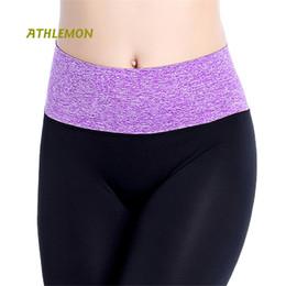 Yoga Pants Leggings Canada - Ladies Athletic Leggings Sport Women Fast Dry Jogging Femme High Waist Ankle Length Gym Workout Leggins Fitness Woman Yoga Pants