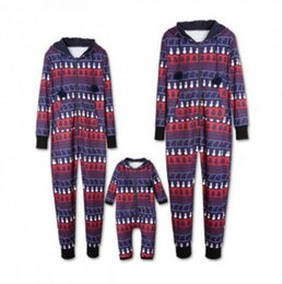 Color Clothes matCh men online shopping - Christmas Family Matching Christmas Pajamas men Men Baby Kids Family Romper Jumpsuit Clothes Xmas Homewears KKA5977