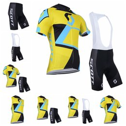 Tour de France Cycling Jersey bike short uniform quick dry MTB Ropa  Ciclismo pro SCOTT cycling clothing mens bicycling Maillot Culotte 91908 a9b892cd8
