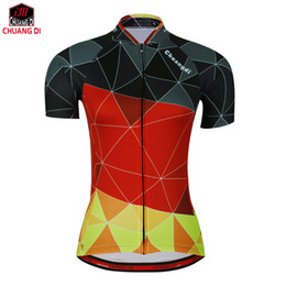 Bike clothing for women online shopping - chuangdi Women Cycling Jersey Short Sleeve Jersey Bike Bicycle Clothing For Spring Summer Autumn
