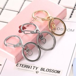 $enCountryForm.capitalKeyWord Australia - Cheap Chain Metal Color Key Chain Mobile Pendant Straps Charms Key ring bag pendant lobster clasp jewelry accessories Free Shipping 127