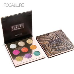 China 9 Color Golden Onion Powder Glitter Pressed Powder Eyeshadow Original FOCALLURE Brand Makeup Cosmetics Eye Shadows Beauty 1226055 suppliers