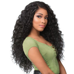 Chinese  Brazilian Wet and Wavy Lace Front Human Hair Wigs For Black Women Water Wave Pre Plucked Virgin Hair Lace Wigs With Baby Hair manufacturers