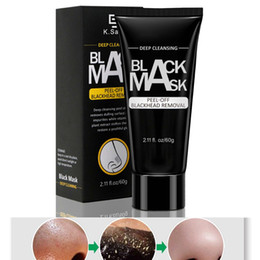 $enCountryForm.capitalKeyWord Australia - 60g Blackhead Remover Face Mask Black Deep Cleansing Bamboo Charcoal Peel Off Facial Mask Acne Removal Treatment Pore Cleaner Skin Care Tool