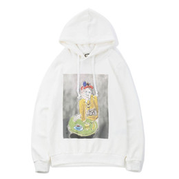 $enCountryForm.capitalKeyWord Australia - 2018Hot sale autumn and winter fashion Tide Brand Museum of new products oil painting characters direct spray printed couple hip hop justin