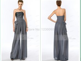 $enCountryForm.capitalKeyWord NZ - vestido de renda summer style Jumpsuit beading sexy robe de soiree 2018 new style long evening dress with pants Formal gown