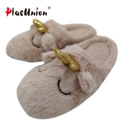Japanese style shoes women online shopping - cotton crown smile japanese style cartoon animal indoor woman slides penguin seal bear home winter anime slipper shoe woman soft