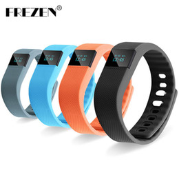 Discount smartband iphone - FREZEN TW64 Fitness Tracker Bluetooth Smartband Sport Bracelet Smart Band Wristband Pedometer for IPhone IOS Android PK