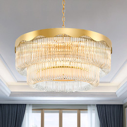 Luxury Kitchens Designs Australia - New design patent unique led crystal glass chandelier lights modern classical creative luxury special led crystal chandelier lamps